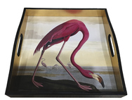 Flamingo Lacquer Tray