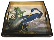 Heron Square Lacquer Tray