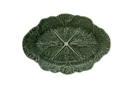 Cabbage Leaf Oval Platter