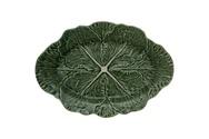 Cabbage Leaf Oval Platter