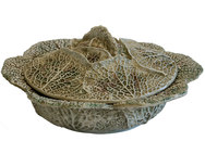 Cabbage Serving Bowl & Lid