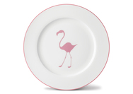 Flamingo Dinner Plate