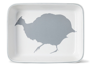 Guinea Fowl Medium Rectangual Ovenware Dish