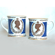 Pair of Victoria & Albert Mugs